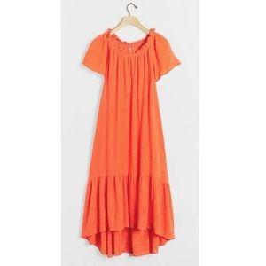 New Anthropologie Maeve Selah High-Low Maxi Dress